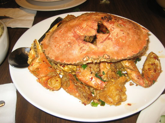 PPQ Dungeness Island : spicy flavored sauteed dungeness crab