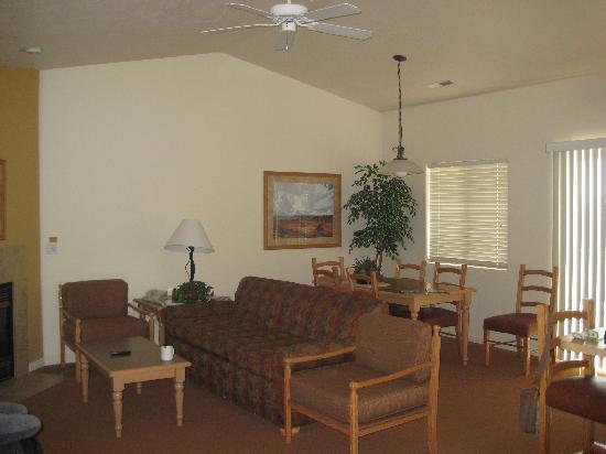 Worldmark St. George: Living room