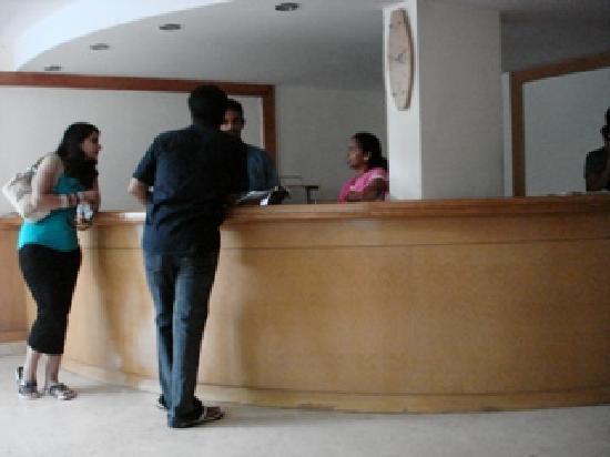 Mapple Viva Goa : The reception area