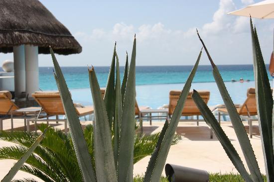 Le Blanc Spa Resort: Swimming pool view