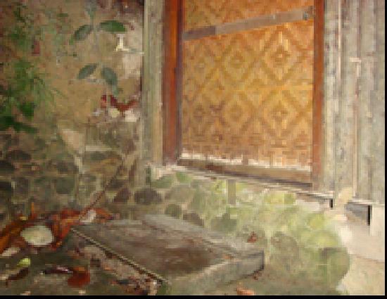 Pulau Kapas, Malaysia: Unpleasant entrance to room