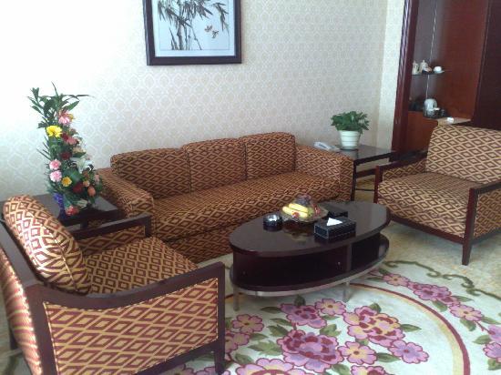 Yuehai Hotel: Sala principal
