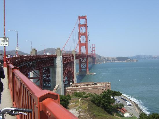 Hotel Drisco: Golden Gate Bridge