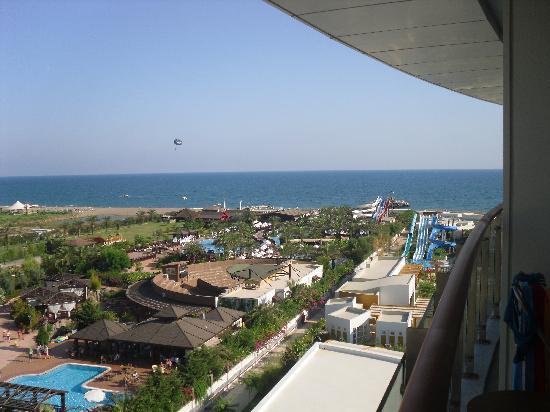 Baia Lara Hotel: View off balcony
