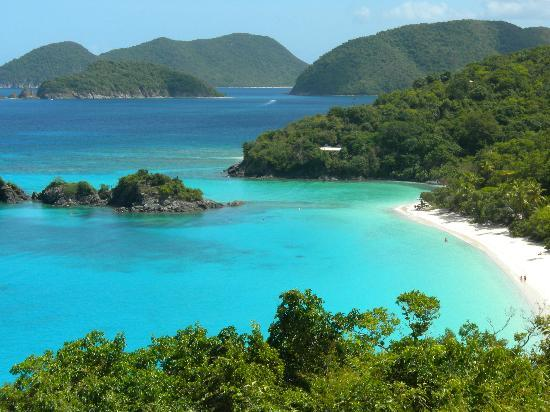 Marriott's Frenchman's Cove: Trunk Bay on St. John..a must see! Bring snorkeling gear.