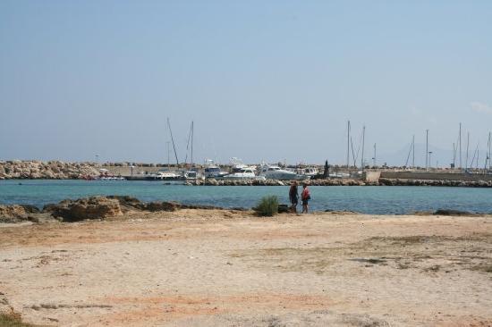 SuneoClub Haiti: near harbour
