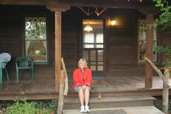 The Wilderness Lodge and Hot Springs: Front Porch