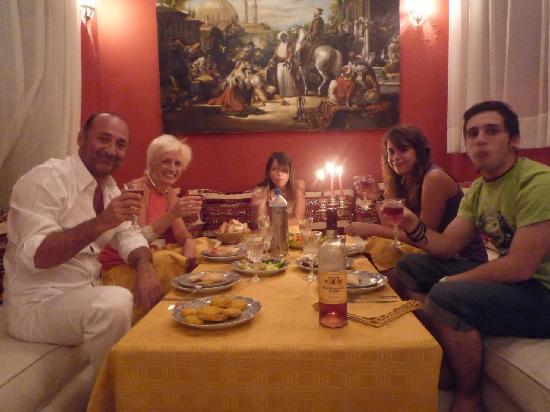 Riad Azoulay: la cena di tutti i giorni