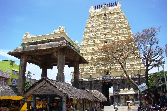 Kanchipuram Ekambaranathar temple main gopuram