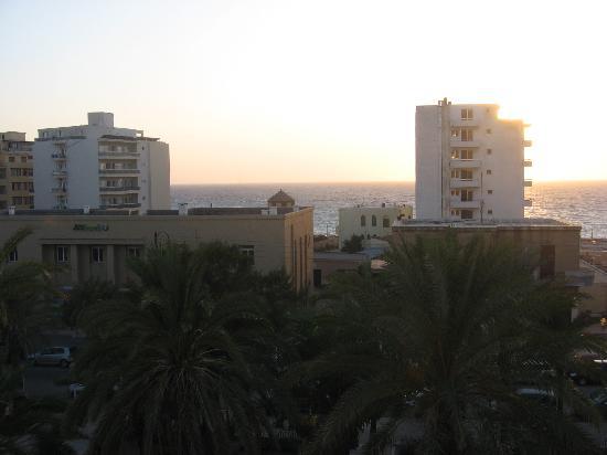 Achillion Hotel: View straight ahead