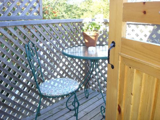 Auberge La Romance : Vue du balcon