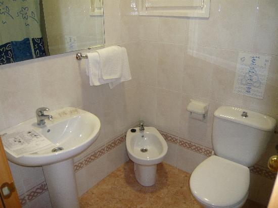 Mar Ski Hotel: la salle de bain