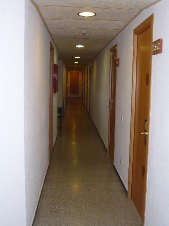 Mar Ski Hotel: le couloir de l'hôtel