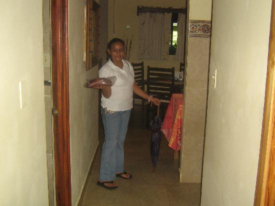 Casita Margarita: Maria our Lovely Breakfast Cook/Housekeep