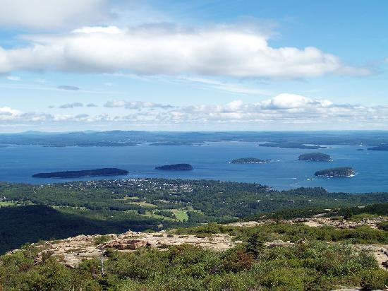 Oli's Trolley - Acadia National Park Tour: View From Cadillac Mt.