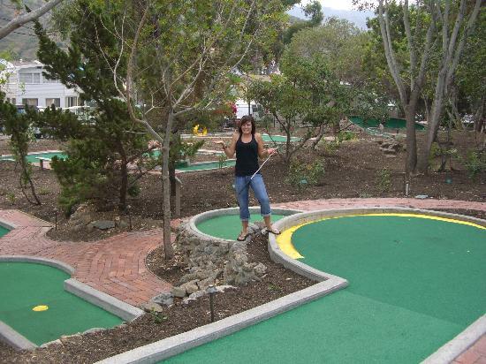 Golf Gardens Miniature Golf: Four Layer Hole!