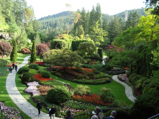 Sunken Garden Butchart Gardens Victoria Bc Tripadvisor