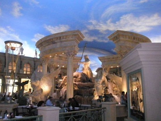 Motion Theaters at the Forum Shops: the forum