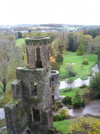Killarney, Irlandia: View from the windown in Blaney Castle