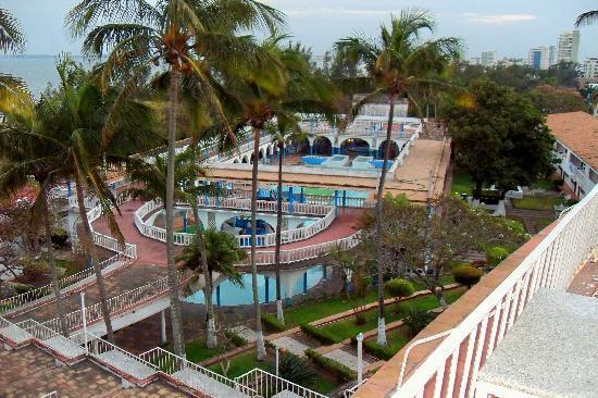 Hotel Mocambo: pool area