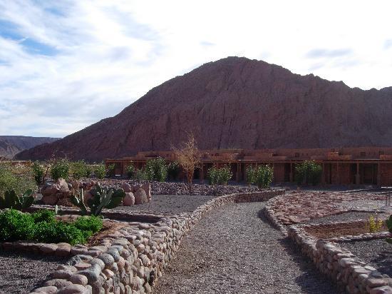 Alto Atacama Desert Lodge & Spa: Hof des Alto Atacama