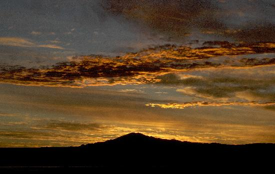 Alto Atacama Desert Lodge & Spa: Sonnenuntergang vom Hotel