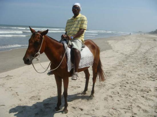 Labadi Pleasure Beach Aufnahme