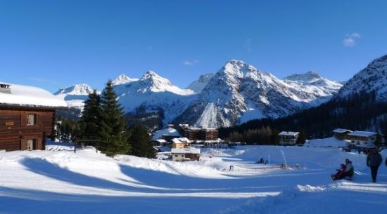 Arosa Kulm Hotel & Alpin Spa : Aussicht auf Kulm Hotel