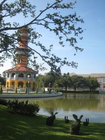 พระราชวังบางปะอิน: Nice view of the Sages Lookout, Bang Pa In Summer Palace, Ayutthaya..Thailand