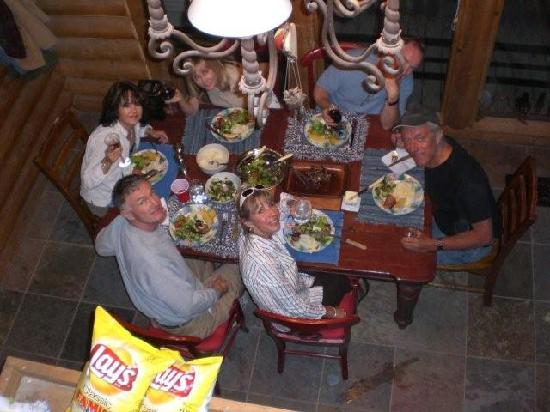 Wild Horse Safaris: Dinner