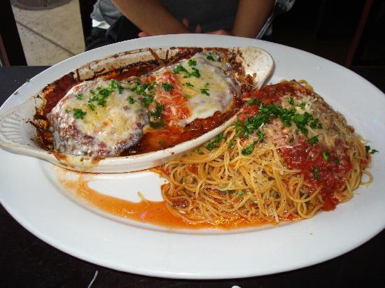 Zest - Bistro & Bar: Eggplant Parmigiana