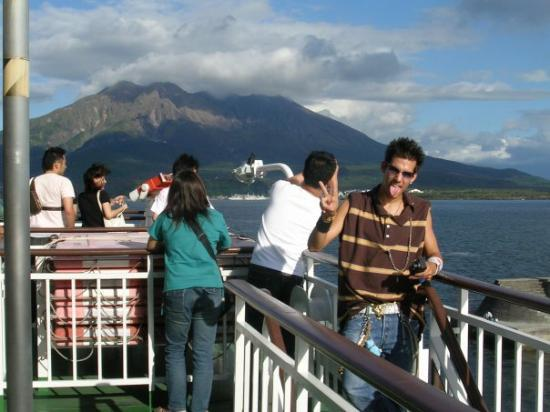 Sakurajima Summer Sightseeing Boat