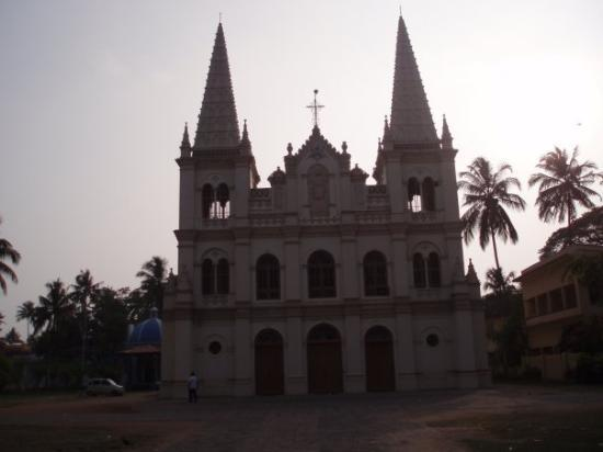 Kochi (Cochin), India: old church in fort kochi