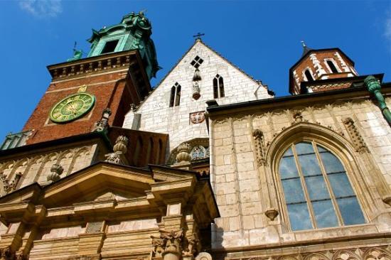 Krakau, Polen: Wawel Cathedral