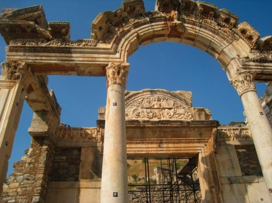 Bursa, Turchia: Library at Ephesus