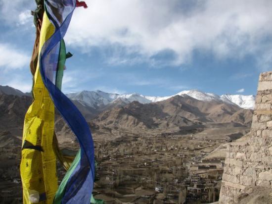 Overlooking Leh