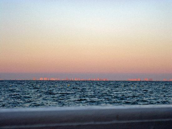 Senorio de Roda: beach as far as the eye can see