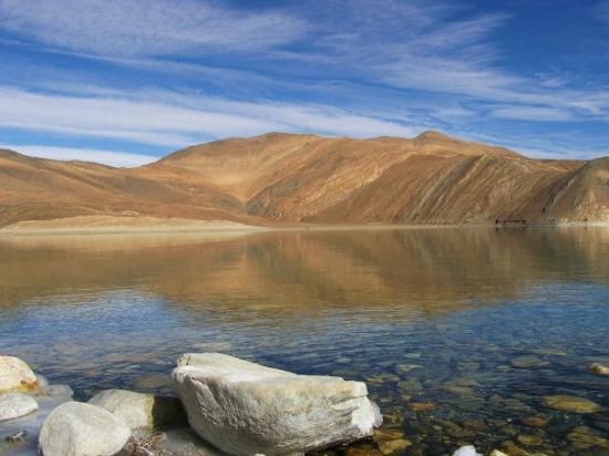 Leh, Inde : Pangong Lake