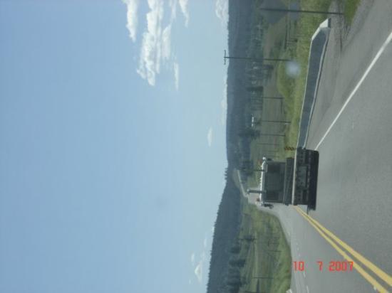 Cache Creek, Canadá: nicht route 66.sondern route 99