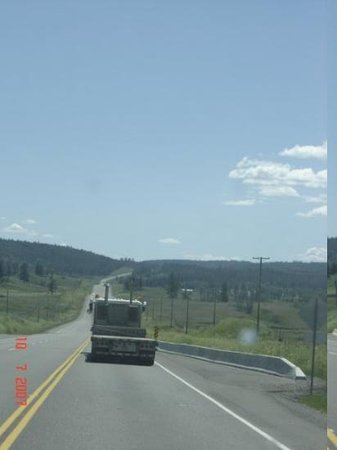Cache Creek, Canada: nicht route 66.sondern route 99