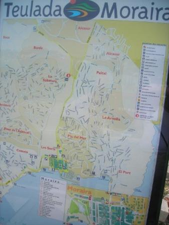 Moraira Spain Map.Map Take This If You Want To Visit Picture Of Moraira Costa