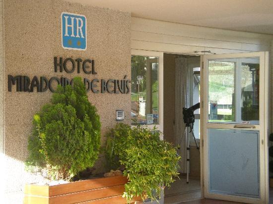 Hotel Mirador de Belvis: Entrada del hotel