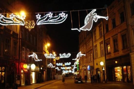 Krakau, Polen: Christmas in Krakow, Poland