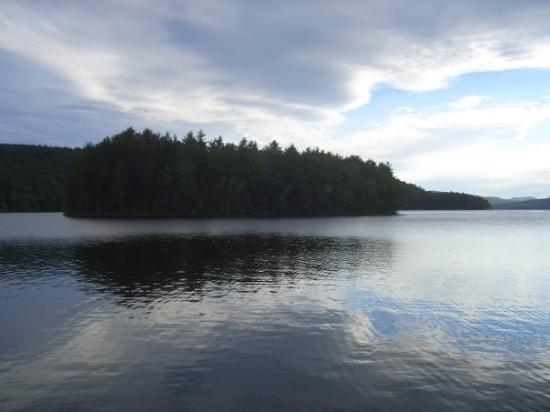 Schroon Lake, NY: Island