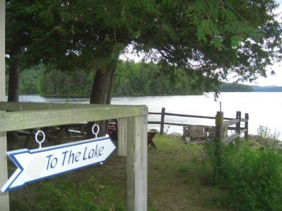 Schroon Lake, NY: Just in case there is a question about it!