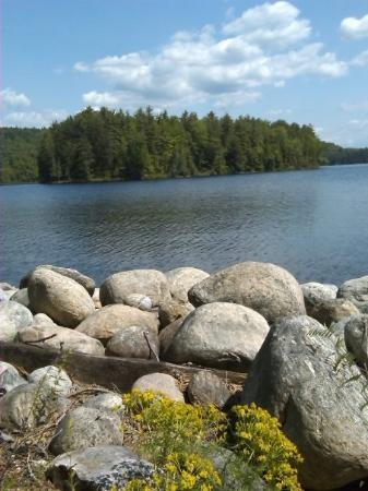 Schroon Lake, NY: Island2