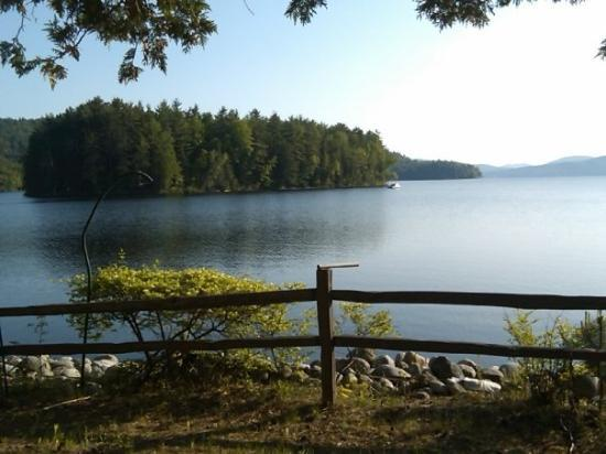 Schroon Lake, NY: The Lake  another front view