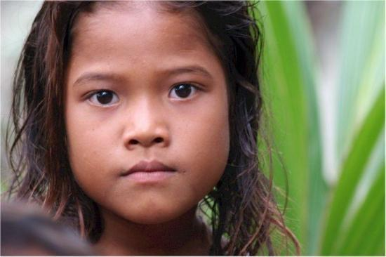Colonia, Micronesia: Children of Lemotrek Atoll