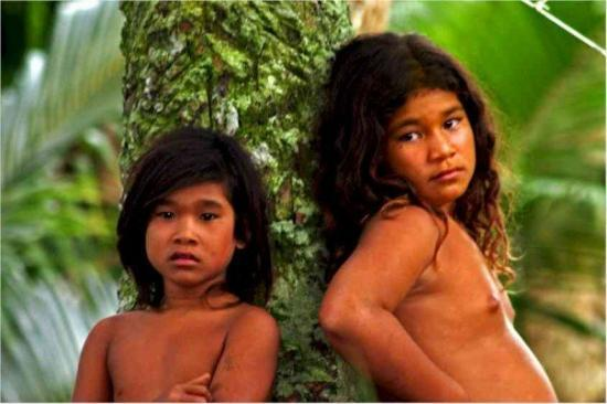 Colonia, Federated States of Micronesia: Children of Lemotrek Atoll