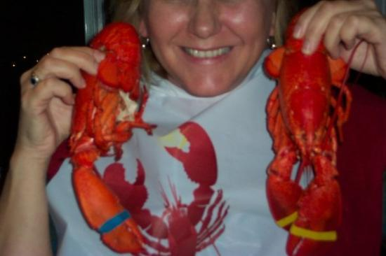 Boothbay Harbor, ME: Twin Lobster Dinner - $17.99